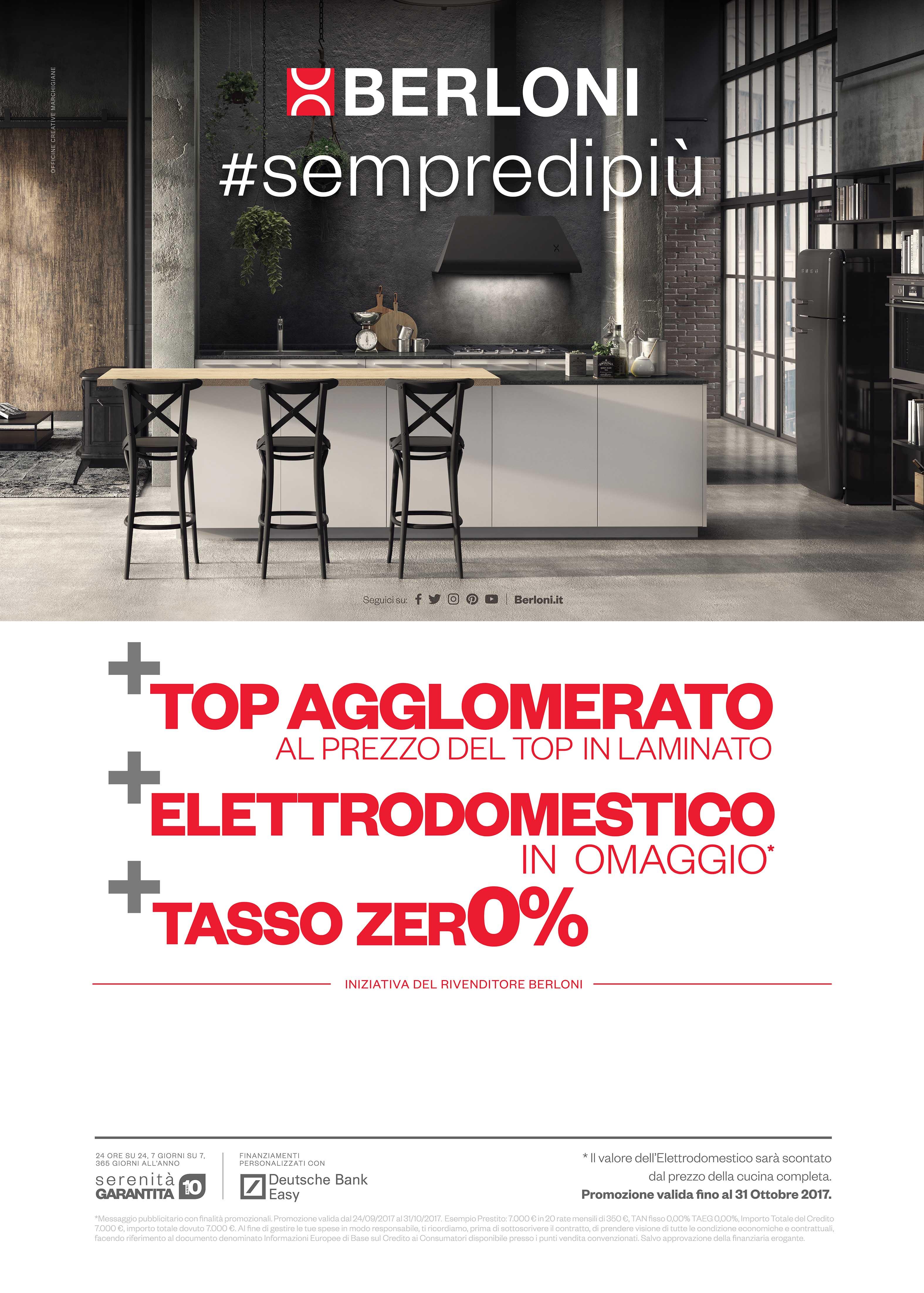 Awesome Promozioni Cucine Berloni Contemporary - Home Design Ideas ...